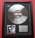 MARILYN MANSON - Lest We Forget CD / PLATINUM PRESENTATION DISC